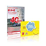 Happy Singapore 7 Days Unlimited Data Card (4G LTE)