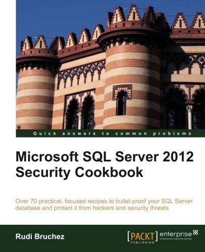 Microsoft SQL Server 2012 Security Cookbook by Rudi Bruchez, Publisher : Packt Publishing