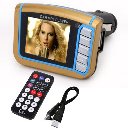 1.8 Inch LCD Colorful Car Mp4 Player Fm Transmitter with Memory outlet