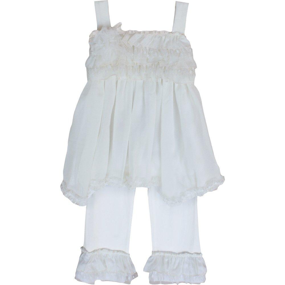 【人気No.1】 Isobella & Chloe Baby & Girlsアイボリークリームシュガー2個パンツ衣装セット12 – Months 24 m – 12 Months B00ZUWGDPE, インポートセレクト musee:311971b7 --- a0267596.xsph.ru