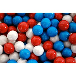 Red, White, and Blue Sixlets (1lbs)
