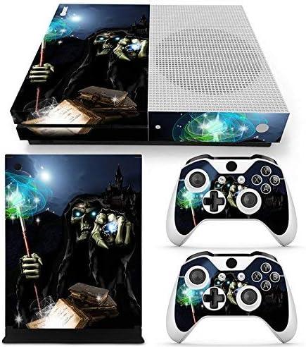 46 North Design Xbox One S Pegatinas De La Consola Magic Skull + 2 ...