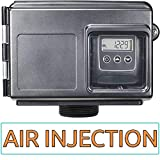 Air injection Silver AIS10-25SXT AFW Air Injection Iron, Sulfur, and Manganese Removal Oxidizing Water Filter, Almond Or Black