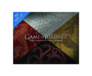 Cover Image for 'Game of Thrones: The Complete First Season (Blu-ray/DVD Combo + Digital Copy)  (Collector's Edition)'