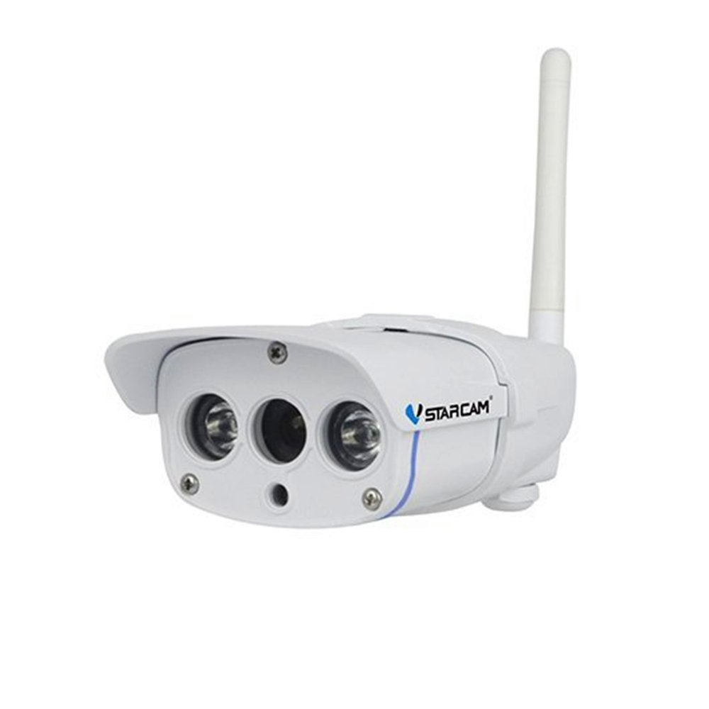 TuoP@ Vstarcam C7816WIP 720P Wi-Fi IP67 Waterproof Outdoor Wireless Security IP Camera with ONVIF2.0 Protocol/Multi-stream/Night Vision/64G TF Card Surveillance Camera