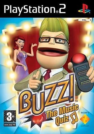PS2 - Buzz! The Music Quiz: Amazon.es: Videojuegos