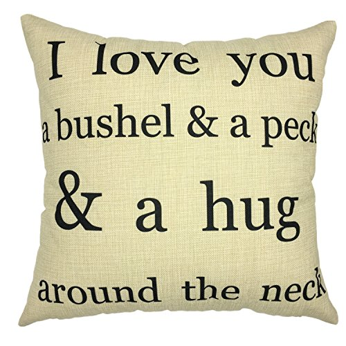 Fall Decorative Pillow (YOUR SMILE-Throw Pillow Case Decorative Letters Outdoor Sofa Cushion Cotton linen)