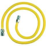 BrassCraft CSSC54-72 P 1/2-Inch FIP x 1/2-Inch MIP x 72-Inch ProCoat Gas Appliance Connector, 5/8-Inch, OD 86,000 BTU by BrassCraft Mfg