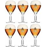 LEFFE - Lot de 6 verres de 25 cl Leffe