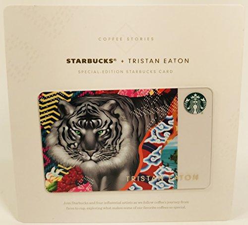 Starbucks Gift Card Collectible No Value Tristan Eaton Tiger Sumatra Coffee Stories Special Edition