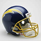 San Diego Chargers 1974-87 Throwback Riddell Deluxe Replica Helmet