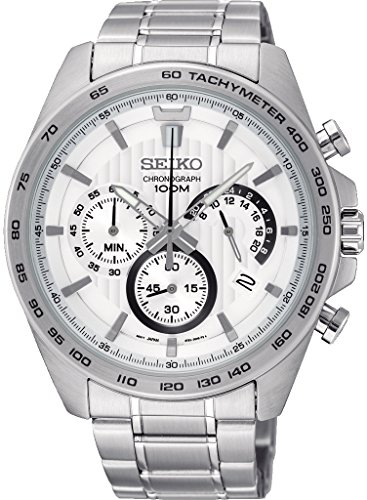 Seiko-Chronograph-White-Dial-Mens-Watch-SSB297P1