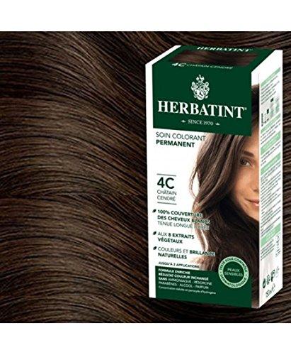 Herbatint Tinta Capelli CASTANO CENERE 4C 265 ml  Amazon.it  Bellezza c445a2f47adb
