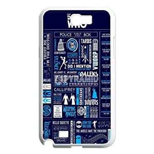 Customized Case Cover for SamSung Galaxy Note2 n7100 - Tardis Doctor Who case 3