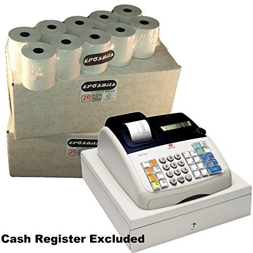 eposbits® marca 40recepción rollos–2cajas para Olivetti ECR 7100Caja registradora ecr7100