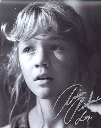 Ariana Richards as Lex Murphy (Jurassic Park) Autograph