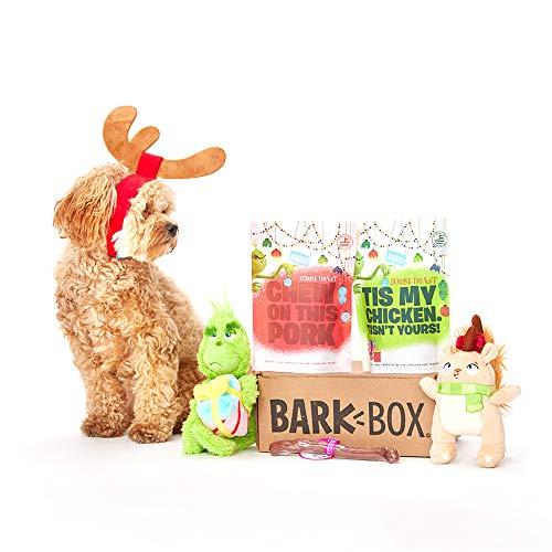 BarkBox Classic Box-1 Medium Dog Grinch Holiday Limited...