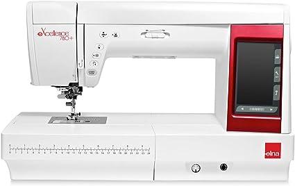 ELNA eXellence 780+ - Máquina de Coser (Zona de Trabajo Muy cómoda ...