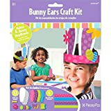Egg-stra Special Easter Party Springtime Bunny Ears Accessory Craft Kit, Paper, Pack of 36