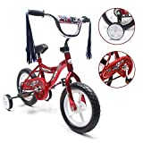 ChromeWheels BMX 12' Kid's Bike for 2-4 Years Old, Bicycle for Boys, EVA Tires with Training Wheels...