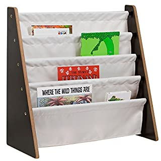 Wildkin Sling Bookshelf by, Quality Fabric and Wood Design Promote Organization and Make Reading Time Easy for Young Readers, Ages 3-10 Years (B01GA0XXKM) | Amazon Products
