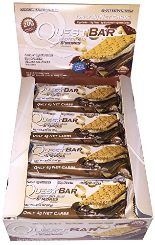 Quest Nutrition Protein Bars, S'mores, 36 Count