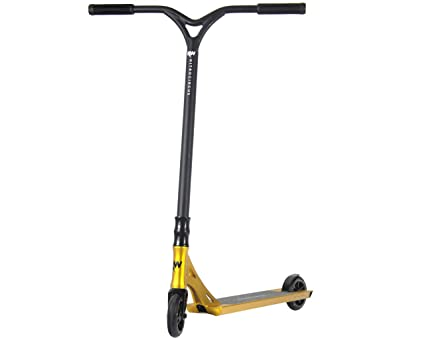 Nitro Circus Ryan Williams Signature Complete Pro Scooter - Gold/Black - As Seen on TV