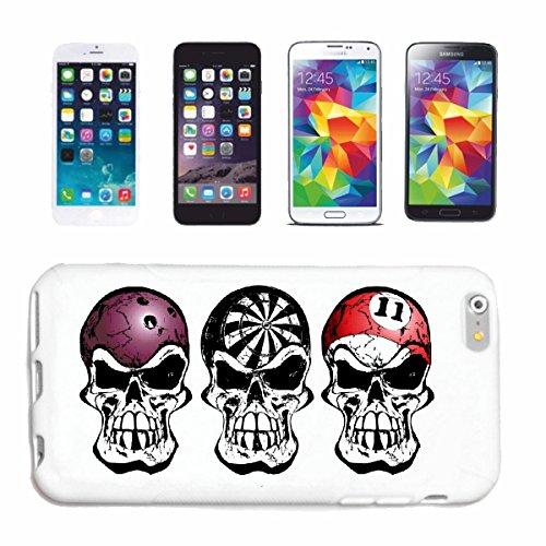 """cas de téléphone iPhone 7 """"Snoker BILLARD BILLES BILLARD Les Billards Table de billard Table QUEUE"""" Hard Case Cover Téléphone Covers Smart Cover pour Apple iPhone en blanc"""