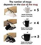 Art Secret 6-Hook Under Cabinet Mug Hanger