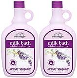 Village Naturals Bath Shoppe English Lavender Milk Bath 28 Fl Oz. 2-pack