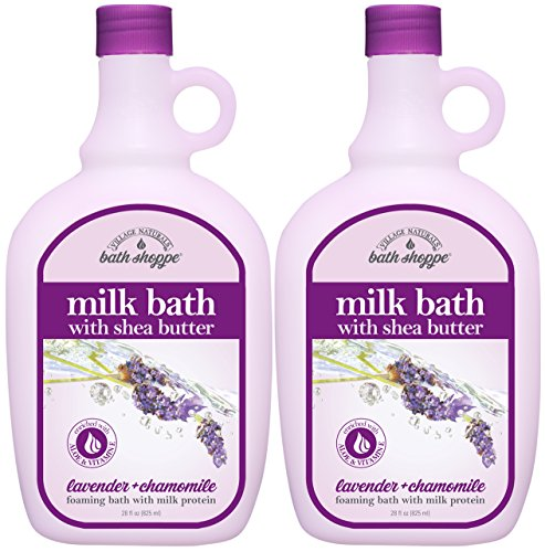 (Village Naturals Bath Shoppe English Lavender Milk Bath 28 Fl Oz. 2-pack)