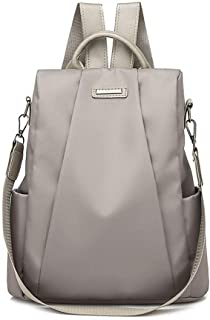 Kofun Sac De Taille, Femmes Lady School Nylon Girls Backpack Voyage Sac À Main Sac À Bandoulière Sac À Dos Bookbag Gris model