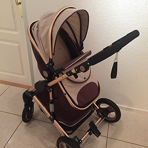 0--36 months baby stroller 2 in 1 stroller lie or damping folding light weight Two-way use four seasons (1) by wisesonle (Image #2)