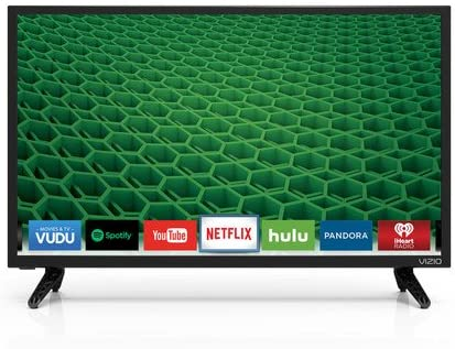 "LED D-Series Open-Box Excellent: VIZIO HDTV 1080p 24/"" Class Smart"