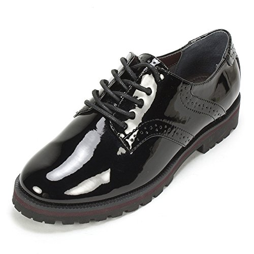 White Mountain Women's Gilly Oxford, Black, 6 M US
