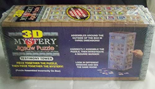 3D Mystery Jigsaw Puzzle Testimony Tower - 504 Pieces