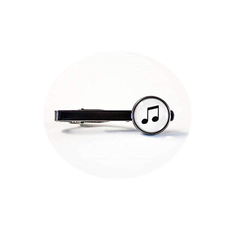 JUN Clip de Corbata de Música, Joyería de Música, Clip de Corbata ...