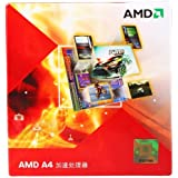 AMD A4-3400 APU with AMD Radeon 6410 HD Graphics 2.7GHz Socket FM1 65W Dual-Core Processor - Retail (AD3400OJGXBOX)