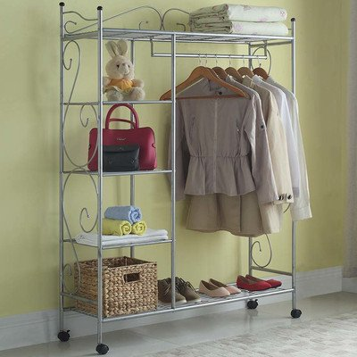 Home Storage Solutions 48'' Wide Closet System by Artiva USA