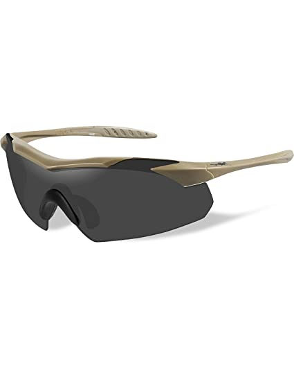3f84ab63b497 Amazon.com: Wiley-X 3512 Wx Vapor Changeable Sunglasses, Clear ...
