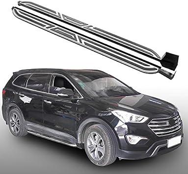 fit Hyundai Maxcruz Santa Fe 2013-2018 new running board side step nerf bar