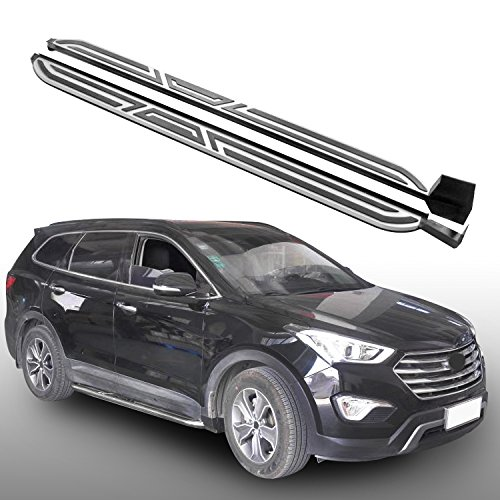 Heka paso lateral para Hyundai Maxcruz Grand Santa Fe 2013–2018Running Junta Nerf Bar