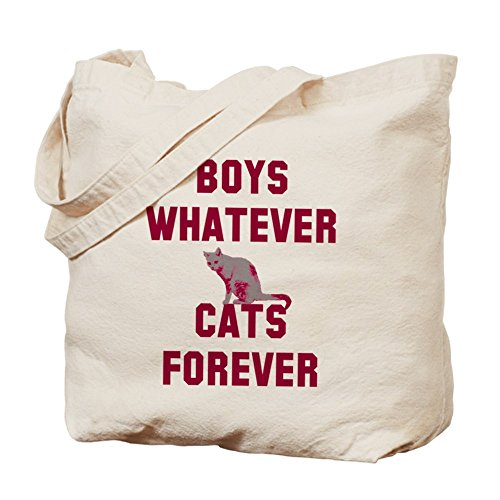 CafePress Boys whatever cats forever Tote Bag - Standard Multi-color by CafePress