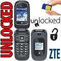 ZTE Z222 Unlocked Flip Phone with Camera