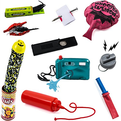 Pranks & Gag Set – Practical Joke , Prank Stuff , Prank Kit- Gift Gag Tricks by Tigerdoe