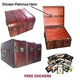wooden cooker - Hogwarts Wooden Steamer Trunk - Patronus Edition