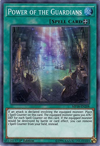 Super Rare Card MP18-EN208 1st Edition Yu-Gi-Oh: Power of The Guardians