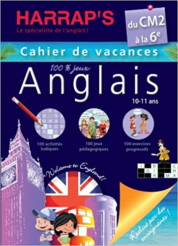 Amazon Fr Harrap S Cahier De Vacances Anglais Du Cm2 A La 6eme