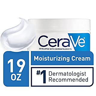 CeraVe Moisturizing Cream for Normal to Dry Skin   19 Ounce   Fragrance Free   Packaging May Vary
