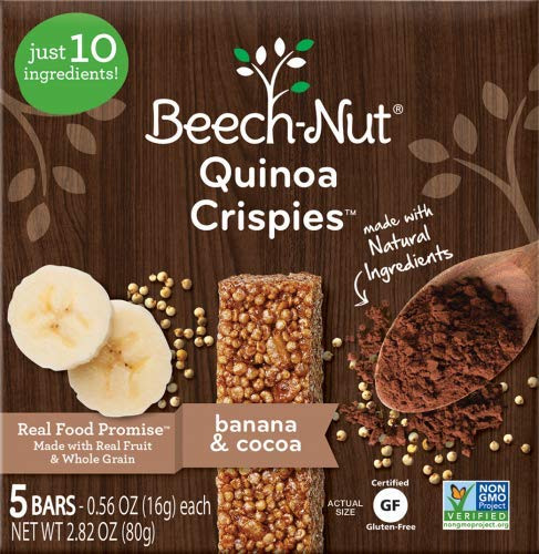 Beech-Nut Stage 3 Quinoa Crispies (Pack of 10)